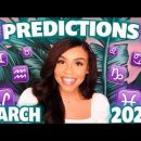 March 2020 Horoscopes 🔮 PREDICTIONS 🔮 For Your ZODIAC Sign 😳 | astrokit