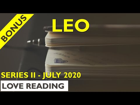 LEO Tarot ♌💛🎁 – Mirroring each other like crazy – BONUS LOVE READING – July 2020