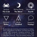 Cancer Cheat Sheet Astrology – Cancer Zodiac Sign – Learning Astrology – AstroGraph Astrology…