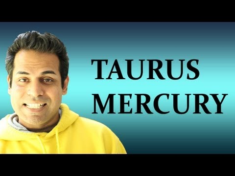 Mercury in Taurus in Astrology (All about Taurus Mercury zodiac sign)