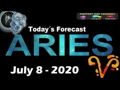 Daily Horoscope ~ ARIES ~ July 8, 2020