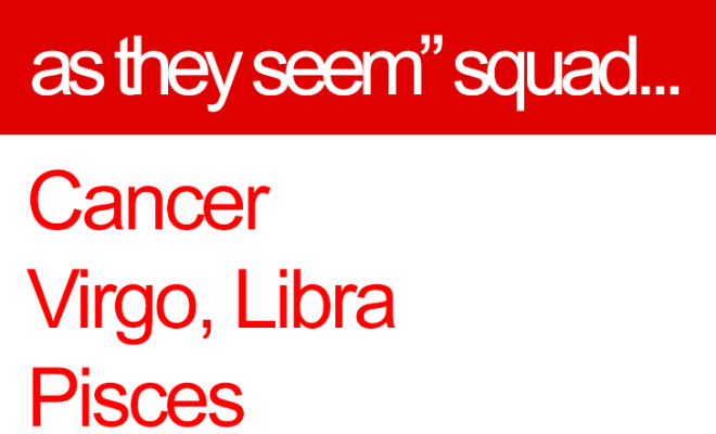 "The ""not as innocent as they seem"" zodiac squad… // Cancer Zodiac Sign //…"
