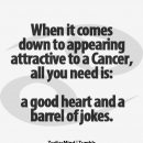 You gotta have the funny; I love to laugh and make others laugh. Getting…