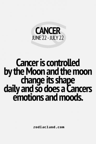 Cancers Think with Emotions and Feelings – Zodiac Land – the Best place for…