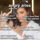 "zodiacs & astrology on Instagram: ""the signs when angry part one: aries-virgo follow me…"