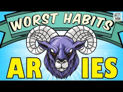 5 WORST HABITS of Aries Zodiac Sign