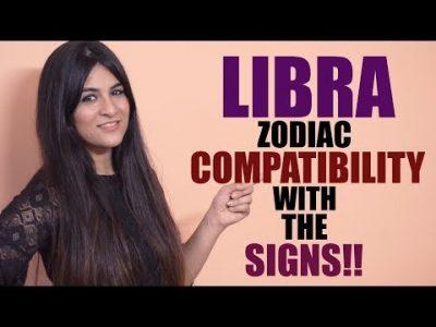 Libra Compatibility with Zodiac Signs