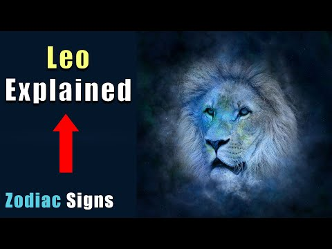 Leo | Zodiac Signs Explained | Astrology⭐