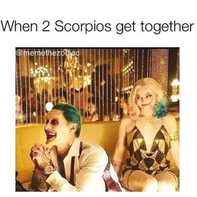 T E R R I F Y I N G . . . #scorpio…