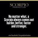 #Scorpio #Zodiac #Astrology For more Scorpio related posts, please follow my FB pages, #ScorpioEvolution…