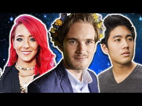 Popular Youtubers and Their Zodiac Signs   Astrology with Cozy