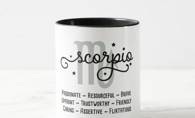 Scorpio Zodiac Traits Mug