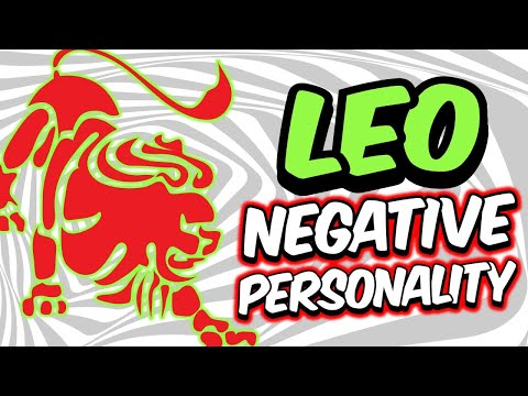 Negative Personality Traits of LEO Zodiac Sign