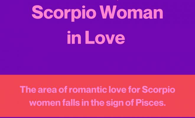 Scorpio Woman in Love