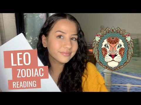 ASMR Leo Zodiac Series – Reading Leo Star Sign Traits with Up-Close & Inaudible Whisper