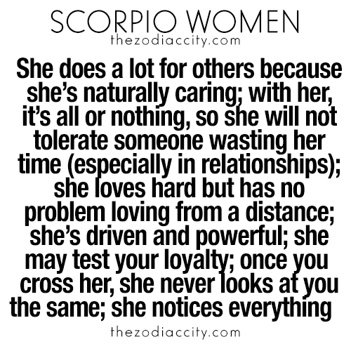 So why are scorpio difficult women Here's The