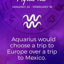 Daily Aquarius Horoscope – Aquarius Zodiac Facts