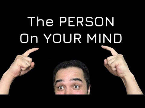 The Person On Your MIND! All Zodiac Signs! April 2021