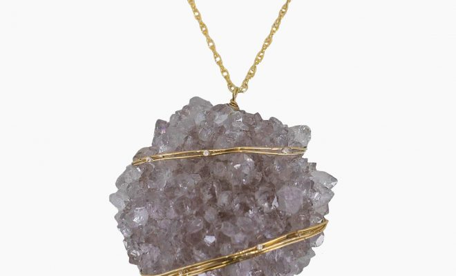 Planet Amethyst Necklace