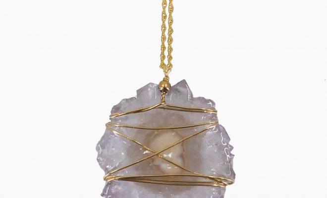 Lilac Amethyst Necklace