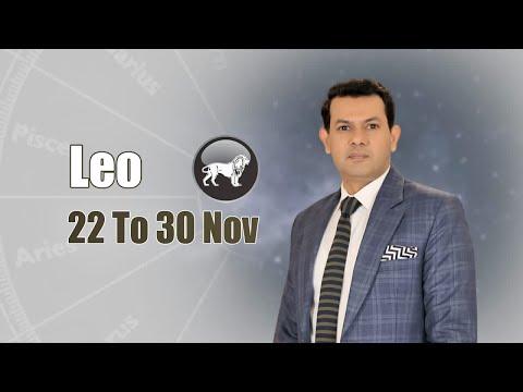 Leo Weekly Horoscope 22nd November To 30th November 2020