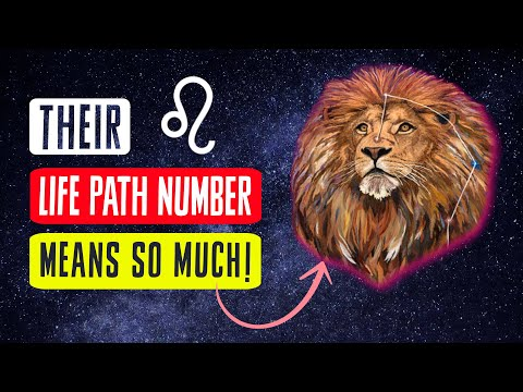 Leo & Life Path Numbers | The SECRETS Of Your Zodiac Sign