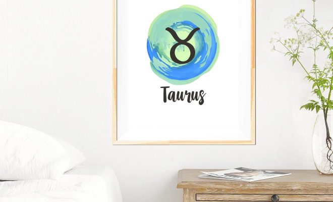 Taurus – Zodiac Star Sign Print – 8×10