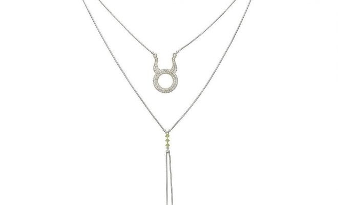 Detachable 3 in 1 Taurus Necklace – Silver
