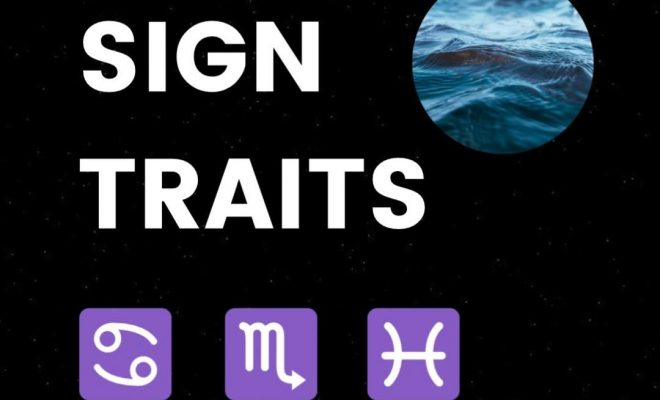 Water Sign Zodiac Personality Traits – Cancer Scorpio Pisces Astrology For Beginners #ZodiacSigns