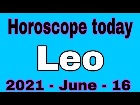 Leo Horoscope Today June 16 2021 // Leo Wednesday June 16 2021 // Leo June 16 2021