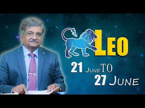 Leo Weekly Horoscope 21 June To 27 June 2021 Syed M Ajmal Rahim