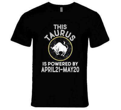 Taurus Zodiac T Shirt – Premium / Black / Small