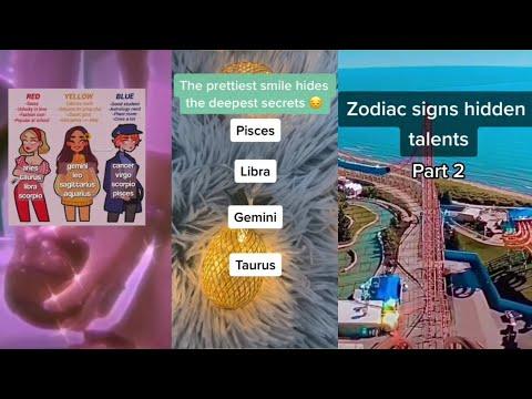 zodiac signs tiktok compilation
