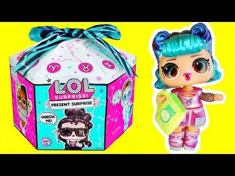 Lol Surprise Present Surprise Series 2, Zodiac Signs Dolls