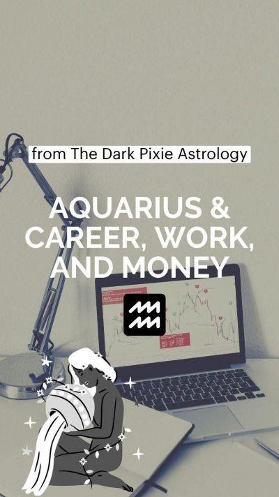 Aquarius & Career, Work, and Money – Astrology