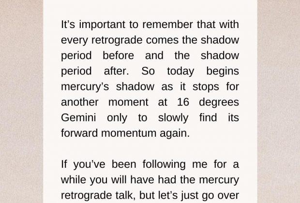 Mercury Direct in Gemini