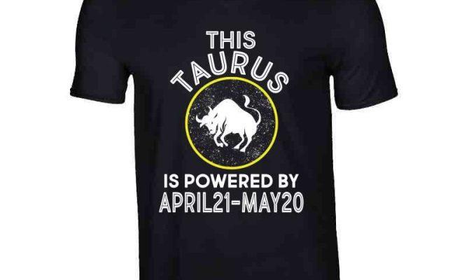 Taurus Zodiac Long Sleeve – V-Neck / Black / Small