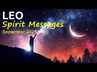 "LEO SPIRIT MESSAGES – SEPTEMBER 2021 ""A HEART-WARMING SURPRISE LEO"" Leo Tarot Reading #Youtube"