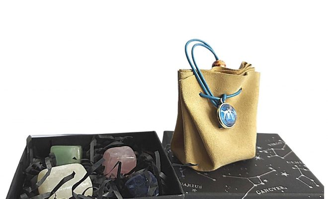 Taurus Zodiac Crystals Gift Set – Birthday Gift – Stones Set + Pouch