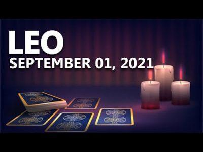 Leo – Today Horoscope – September 1, 2021