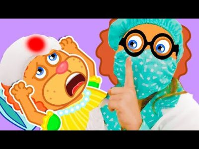 Leo like a doctor. Kids Songs about doctor with Lion Family | Cartoon for Kids