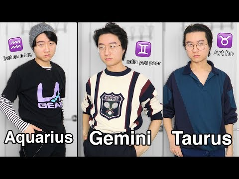 """I transformed into every zodiac sign based on this """"astrology website"""""""