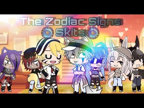 Zodiac Signs II Skits II Gacha Life II ⚠ cuss warning ⚠