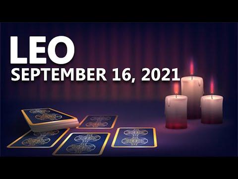 Leo – Today Horoscope – September 16, 2021