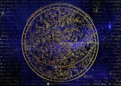 Northern Hemisphere Constellations – Art Print – 12.000 x 8.500 / Somerset Velvet