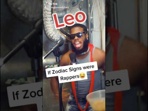 If Zodiac Signs Were Rappers😂