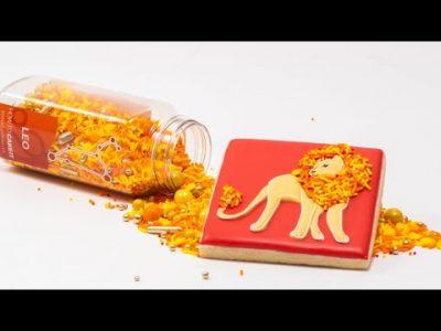 Baking The Zodiac – Water Signs! Aries, Leo, Sagittarius #Shorts