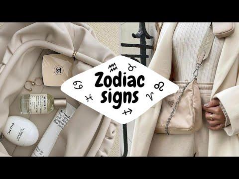Zodiac Signs As Aesthetics