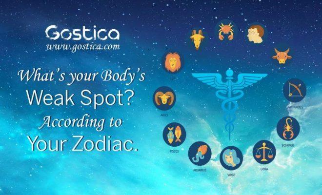 Your Body's Weak Spot Based On Medical Astrology