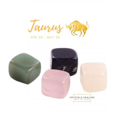 Taurus Zodiac Crystals Gift Set – Birthday Gift – Stones Set